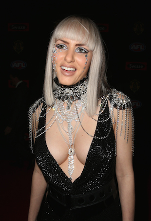 Gabi Grecko at 2014 Brownlow Medal