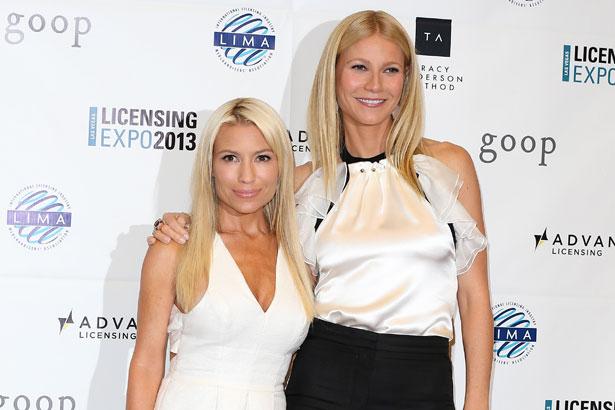 Tracy Anderson and Gwyneth Paltrow