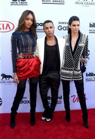 Jourdan Dunn Olivier Rousteing Balmain Kendall Jenner H&M