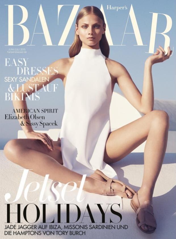 Harper's Bazaar Germany June/July 2015 Anna Selezneva by Marcus Ohlsson