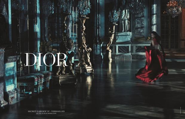 Chrisitan Dior Secret Garden 2015 Campaign with Rihanna