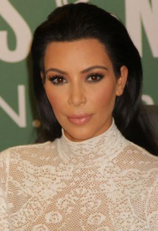 Kim Kardashian book signing