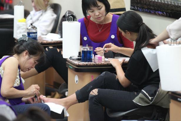 Nail salon bill of rights