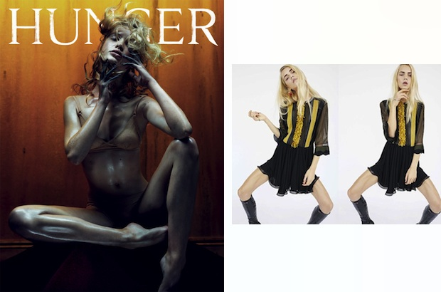 Camilla Christensen via Hunger Magazine; Line Brems via Louis Vuitton