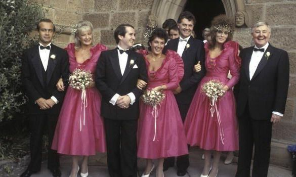 hot product new lower prices cheapest Elton John's Bridesmaid is Selling Her Iconic 80s Dress on ...