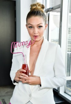 Gigi Hadid Comes to Toronto for Maybelline's 100th Anniversary