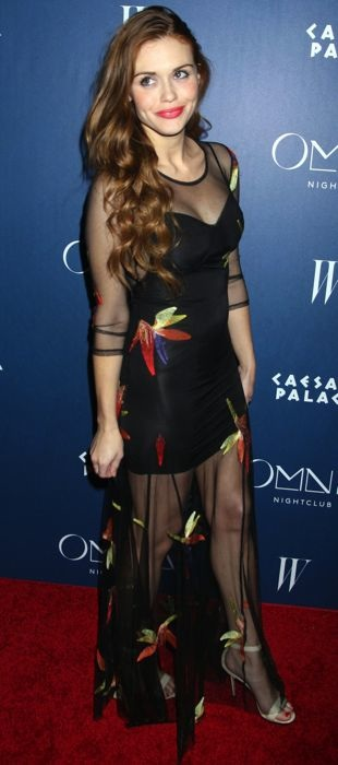 Holland Roden in For Love & Lemons at the Omnia Nightclub opening celebration