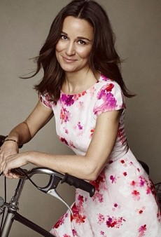 Pippa Middleton Designs Charity Dress with Tabitha Webb