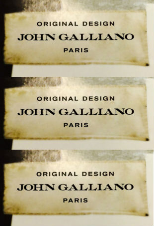 New John Galliano Logo