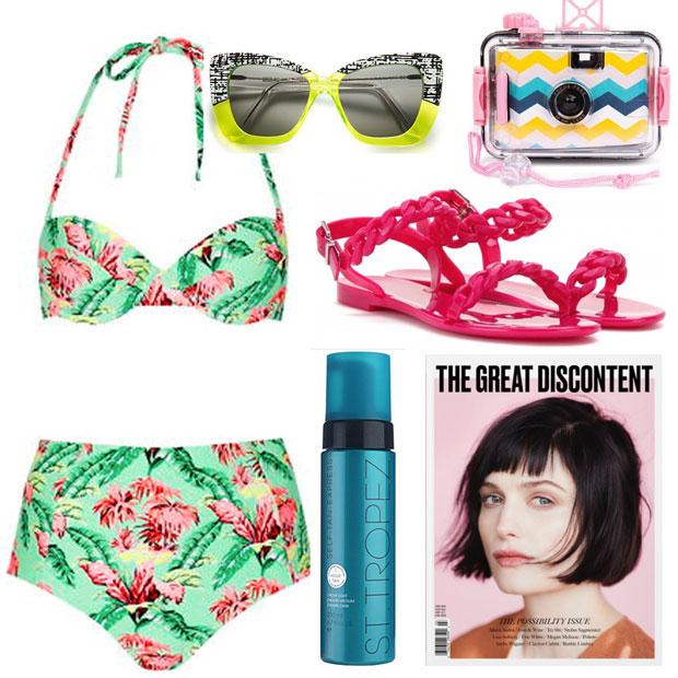 1b01722f Summer Weekend Getaway Packing List - theFashionSpot