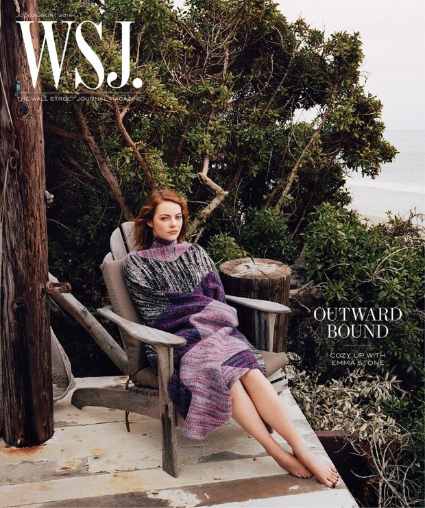 WSJ Magazine July/August 2015 Emma Stone by Angelo Penetta