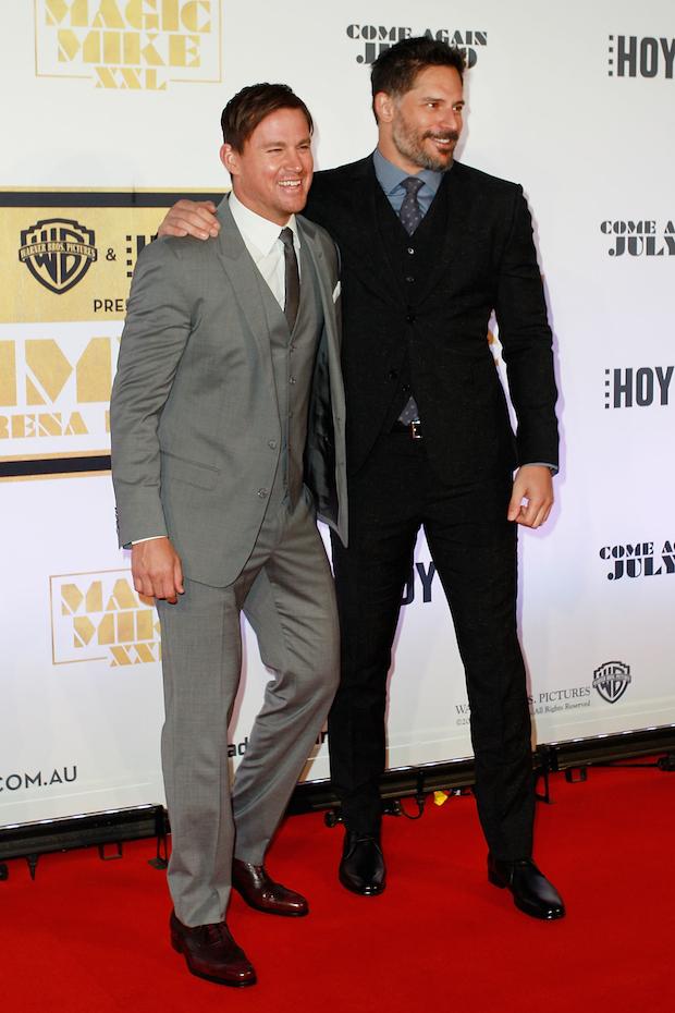 Channing Tatum and Joe Manganiello