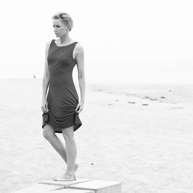 Naomi Watts on beach
