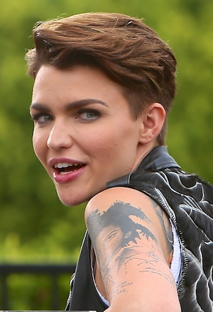 Ruby Rose at Universal Studios