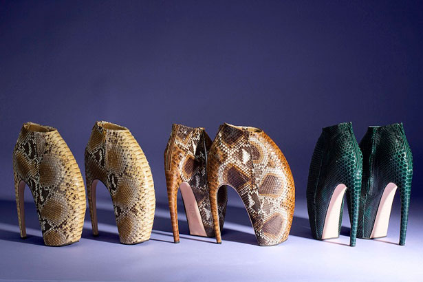 Alexander McQueen's Armadillo Boots Going up for Auction ...