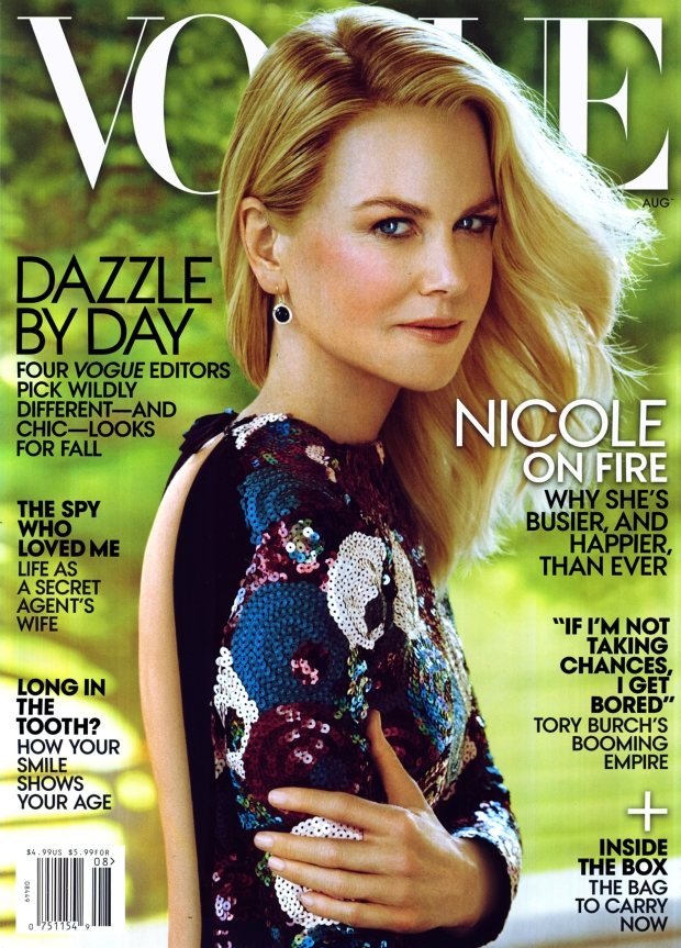 US Vogue August 2015 Nicole Kidman