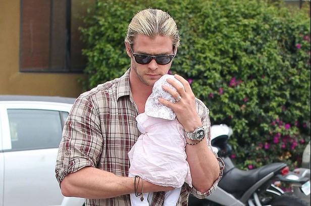 Chris Hemsworth Dad
