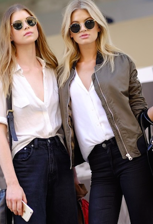 Models off duty mbfwa 2015