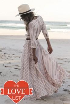 Trans-Seasonal Maxi Dresses: The Love List
