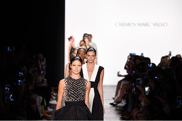 Carmen Marc Valvo Spring 2016 runway