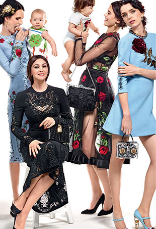 Dolce and Gabbana Fall 2015 ad