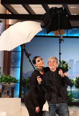 Ellen degeneres Kim Kardashian