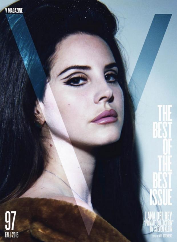 V Magazine #97 Fall 2015 Lana Del Rey by Steven Klein