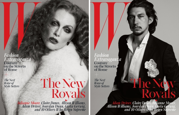 W Magazine October 2015 The New Royals by Inez & Vinoodh