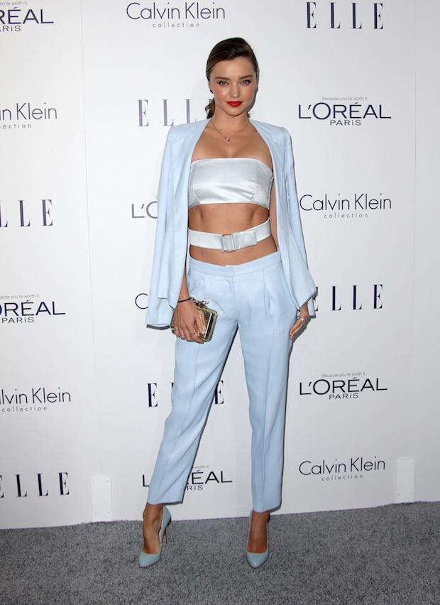 Miranda Kerr at 2015 ELLE Women in Hollywood Awards