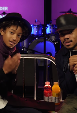 Willow Smith and Chance the Rapper