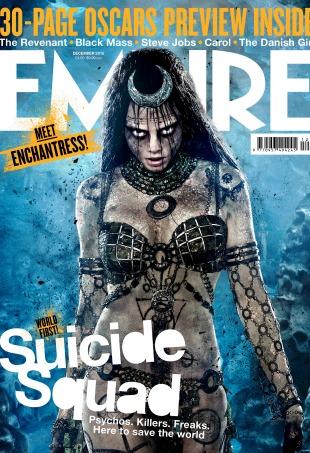 Cara Delevingne Suicide Squad Enchantress Empire Magazine