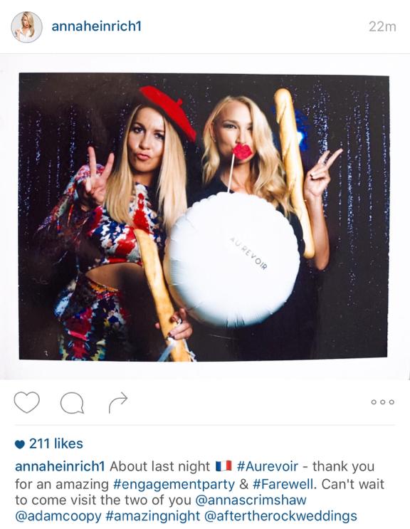 Anna Heinrich Instagram post