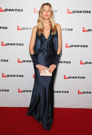 Jessica Hart for Qantas
