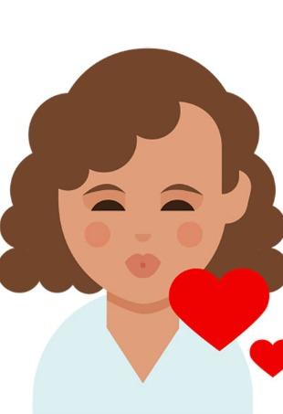 Dove Curl Emojis