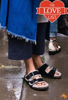 Cozy Fall Sandals Perfect for 'Swinter'