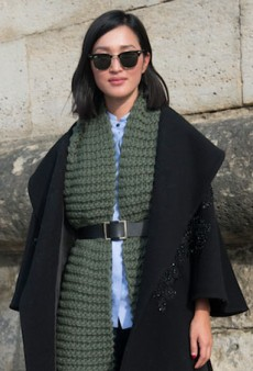 How to Wear a Scarf When You've Run Out of Ideas