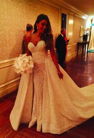 Sofia Vergara Wedding Gown