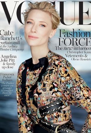 Vogue Australia December 2015 : Cate Blanchett by Will Davidson