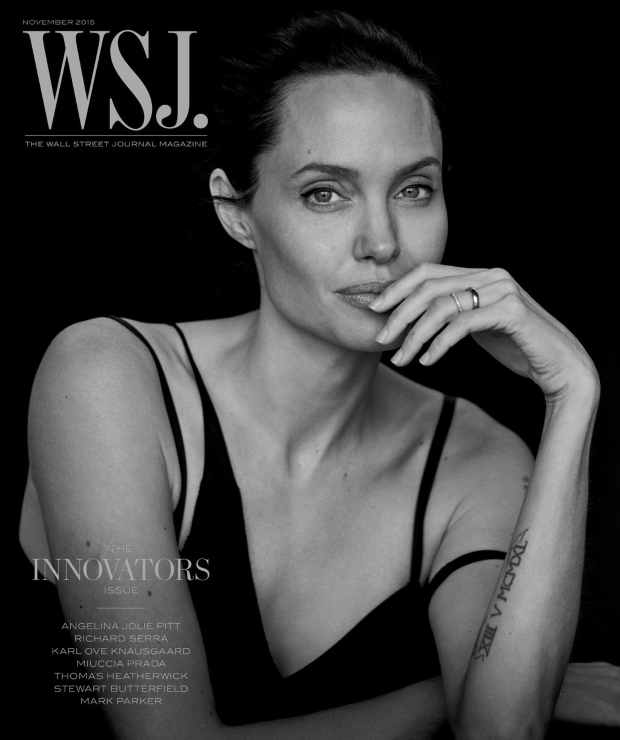 WSJ Magazine November 2015 : Angelina Jolie by Peter Lindbergh