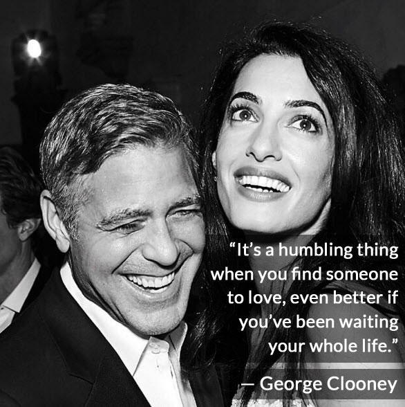 George and Amal Clooney relationship quote