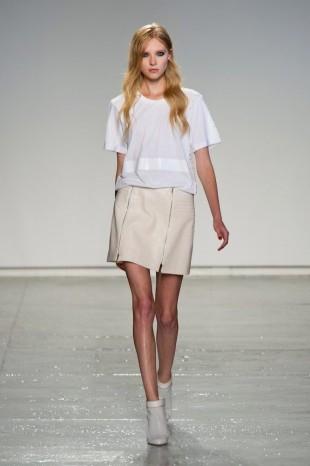 Summer leather runway