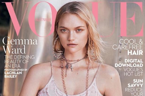 Vogue Australia January 2016 : Gemma Ward by Lachlan Bailey