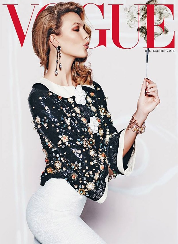 Vogue Mexico December 2015 : Karlie Kloss by Russell James
