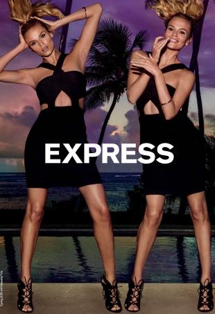 Express S/S 2016 : Natasha Poly by Inez van Lamsweerde & Vinoodh Matadin