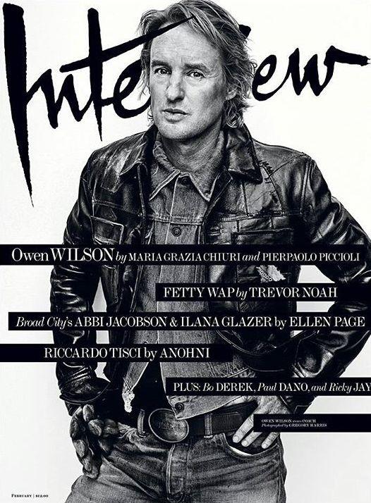 Interview February 2016 : Owen Wilson by Gregory Harris