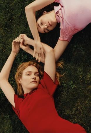 Stella McCartney S/S 2016 : Natalia Vodianova & Mariacarla Boscono by Harley Weir