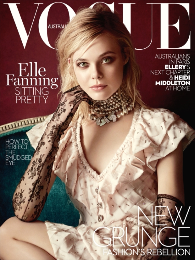 Vogue Australia March 2016 : Elle Fanning by Boo George