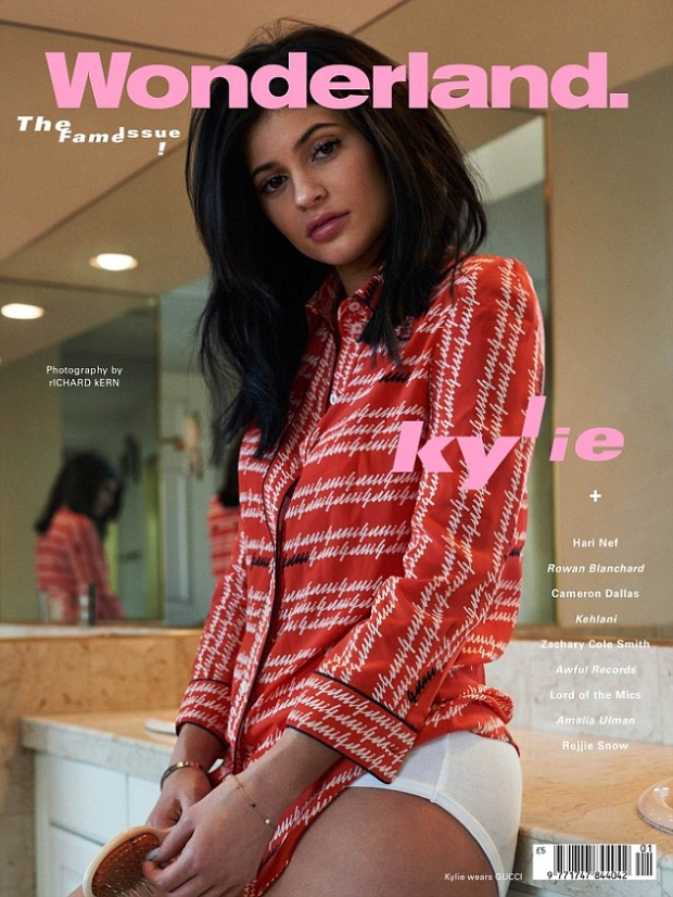 Wonderland S/S 2016 : Kylie Jenner by Richard Kern