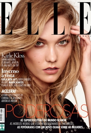 Elle Brazil March 2016 : Karlie Kloss by Nicole Heiniger