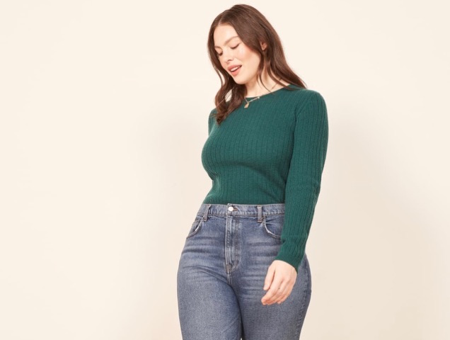6b0f03787cd Best High-Waisted Jeans for Every Body Type - theFashionSpot